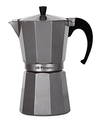 Orbegozo KFS920 Cafetera de aluminio, 9 Tazas, Plata