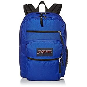 JanSport Big Student Polyester Backpack - Regal Blue