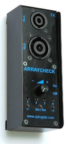 Optogate Array Check - Line Array/Lautsprecher Tester -