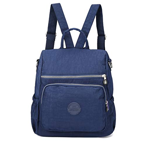 Back Packs Rucksack Women Backpack Nylon, JOSEKO Lightweight Multi-Function Handbag Girls School Bag Anti-Theft Waterproof Shoulder Bag Messenger Cross Body Casual Daypack Travel Bag