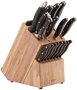 Berghoff International Black Essentials Forged Cutlery 20-Piece Set