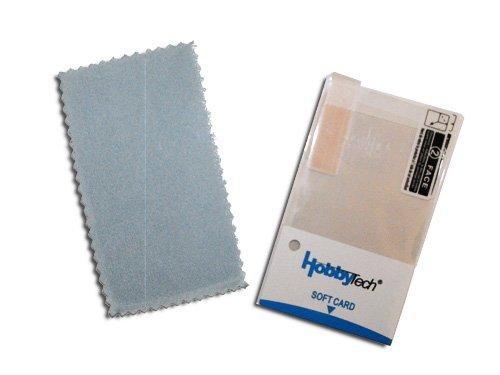 Kit de protection ecran 3 DS (Supérieur et inférieur) + raclette de pose + chiffon - HobbyTech