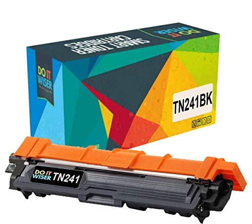 Cartuccia di toner TN241 TN245 Do it wiser Compatibile In sostituzione di Brother TN-241 TN-245 MFC-9140CDN HL-3140CW DCP-9020CDW MFC-9340CDW HL-3150CDW MFC-9330CDW HL-3170CDW (Nero)