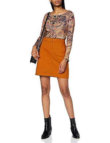 Esprit 070EE1D308 Falda, 220/marrón, 38 para Mujer