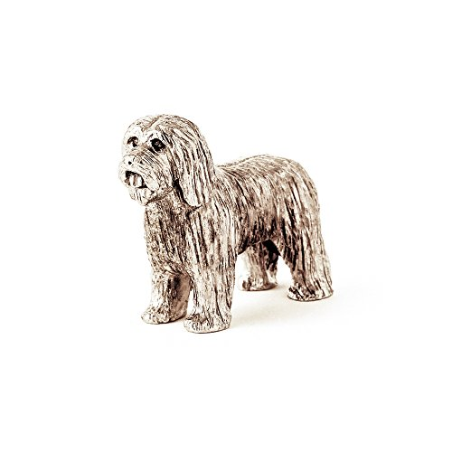 Bearded Collie Made in UK Artistic Style Dog Figurine Collection