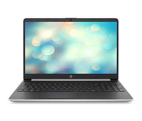 HP 15s-fq0012na 15.6 Inch Full HD Laptop, Intel Core i5-8265U, 8 GB, 512 GB SSD, Windows 10 Home - Natural Silver
