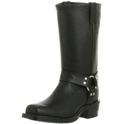 Chippewa Herren 12'' Harness Leder Black Stiefel 41 EU