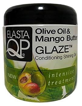 Elasta QP Glaze Conditioning Shining Gel 6 oz  Pack of 4