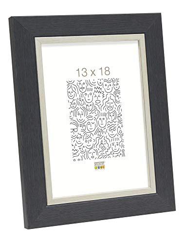 Deknudt fotolijst, kunsthars, 50 x 60 cm, grijs