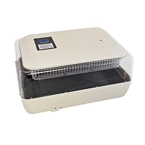 WilTec Incubadora para Huevos, Capacidad para 24 Huevos de gallina, Aves de Corral, Pato, codorniz, Reptil