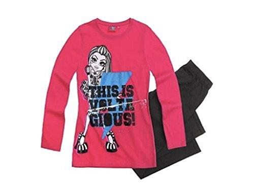 Monster High Schlafanzug Frankie Steen pink (122/128)