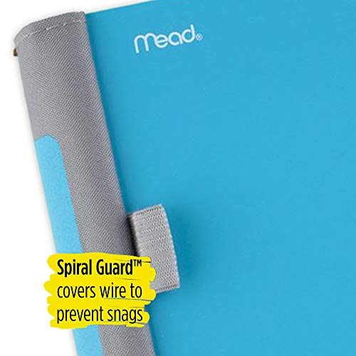 Five Star Advance Spiral Notebook, 5 Subject, College Ruled Paper, 200 Sheets, 11 x 8-1/2 inches, Teal (73152) Photo #2