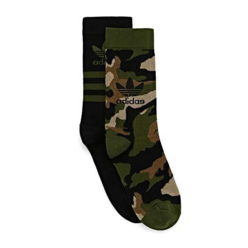 Adidas Originals Camo Crew Sock Sports Socks XL Wildpine