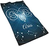 hotmoment-uk Handtuch für Jungen und Mädchen, Mama-Bär, Bedruckt, Polyester, Brokat, geeignet für Jugendliche, 30,5 x 70 cm