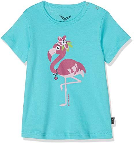 Trigema 185235119 T-Shirt, Vert (Mint 151), 92 Mixte bébé