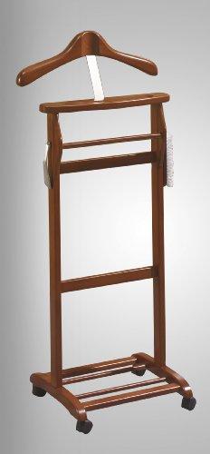 PEGANE Valet de Nuit Simple Cerise, Dim : 47 x 35 x 110 cm (Poids : 4.5 Kg)