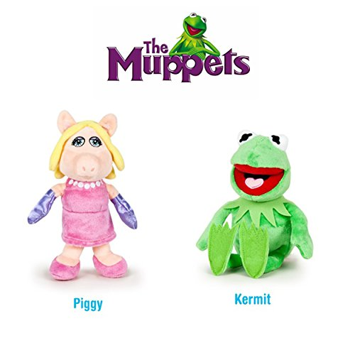 The Muppets (Los Teleñecos) - Pack 2 peluches Calidad super