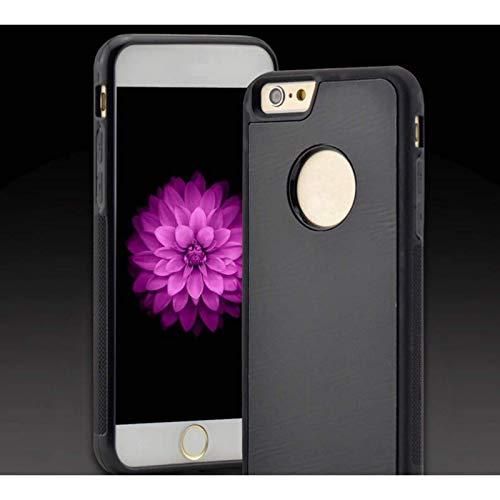 Adecuado para iPhone12 Pro MAX mini 11pro MAX 7 / 8P 6 / 6S X/XS/XR Pluto funda de teléfono de silicona líquida antigravedad, nano adsorción mágica, parachoques a prueba de golpes de alta calidad