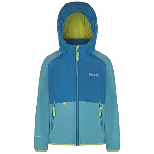 Regatta Arowana Softshell Jacket Kids - Atoll Blue/Methyl Blue