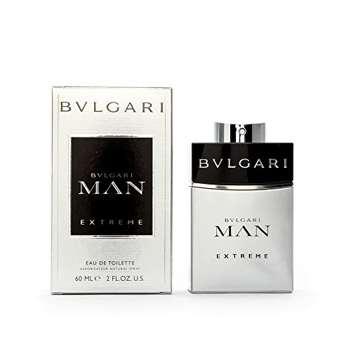 Bvlgari Man Extreme Eau De Toilette Spray for Men, 2 Ounce