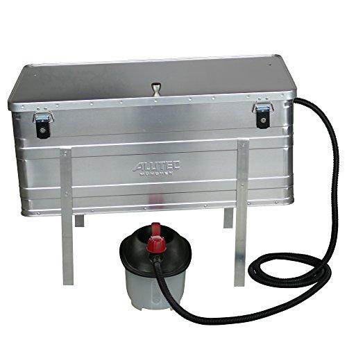 Dampfwachsschmelzer mit einem Fassungsvermögen von 140 Liter inkl. Dampferzeuger für den eigenen Wachskreislauf