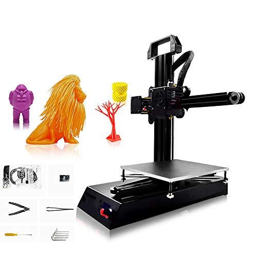 Ensemble D'Imprimante Bricolage 3D avec Cadre Stable, SystèMe D'Assemblage Simple, Haute PréCision, Portable, Poids LéGer, Architecture/MéDical/Industrie/Home/Movie Field
