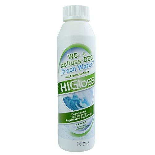 HiGloss WC Abfluss-Deo Fresh Water 250ml