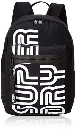 Superdry Damen Nostalgia Backpack Rucksack, Schwarz (Black), 35x20x45 cm