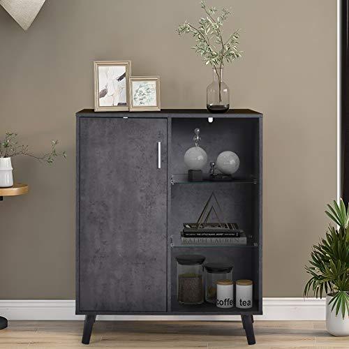 WYLZLIY-Home Meuble de Rangement Commode Armoire Cabinet De Rangement Buffet MultiPutural Cabinet pour Salon Chambre à Coucher Couloir Style Industriel
