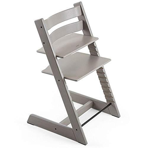 Stokke Beech Wood Ergonomic 2019 Tripp Trapp Chair, Oak Greywash
