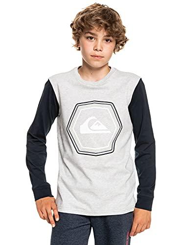 Quiksilver™ - Camiseta de Manga Larga - Niños - Gris