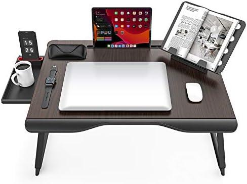 Extra Large Laptop Desk SAIJI Folding Bed Tray Table for Writng Working Gaming Eating Lap Desk product image