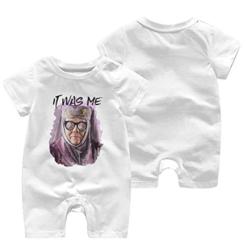O&X Tell Cersei It was Me - Mono de manga corta para bebé