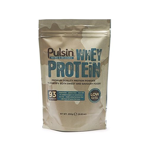 Pulsin - Whey Protein Isolate - 100% Natural - 250g