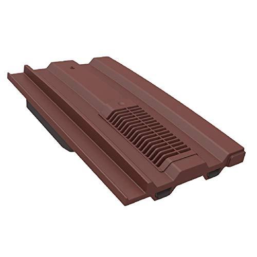 Antike Rot Mini Kronenmutter Dachziegel Vent / Marley Ludlow Plus Redland Sandtoft