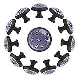 Dony Panda - Tirador diario para tiradores de gabinete y cajones para gabinetes de cocina, cajones, gabinetes y accesorios para decoración del hogar (12 paquetes)