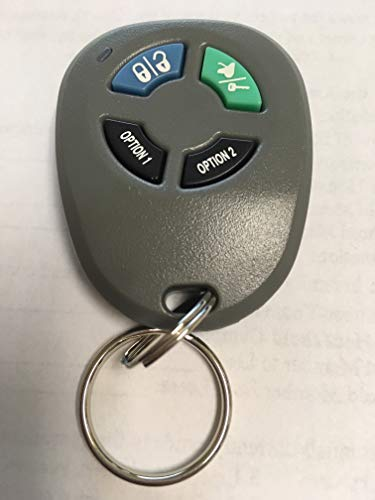 New Genuine Audiovox Prestige/Pursuit APS2K4SAW Starter Transmitter Key Fob FCC ID ELVATOC Includes Programming Instructions Replaces Many Models See Description