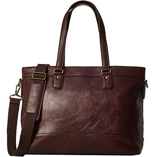 [グレヴィオ] 一流の鞄職人が作る ビジネスバッグ ビジネストートバッグ トートバッグ 大容量 自立 メンズ B4 ダークブラウン