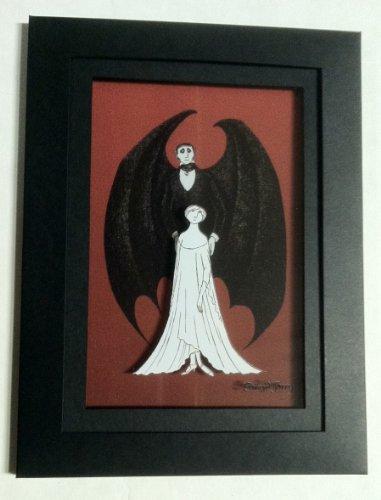 "Arcane Vault's Edward Gorey ""Lucy & Dracula"" 3D HD2 Laser Cel™"
