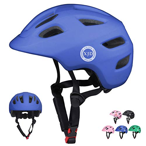 XJD Toddler Helmet Kids Bike Helmet CPSC Certified Multi-Sport Adjustable Helmet for Kids Ages 2-5 Years Old Boys Girls Baby Infant Helmet Safety Cycling Bicycle Skateboard Helmet Blue XS