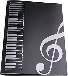 LYTIVAGEN Segregator muzyczny A4 Music Sheet Chorteczka na notatki fortepian, wodoszczelna teczka na nuty, teczka na dokum...