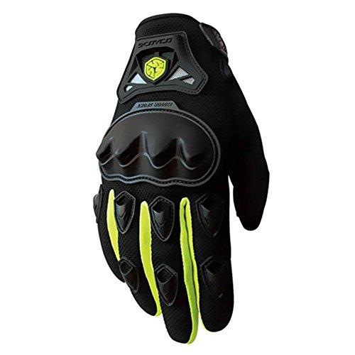 da moto per motociclismo e altri sport traspiranti Attrezzatura protettiva con imbottitura di sicurezza resistente agli urti guanti senza dita CAMC29D Guanti senza dita Crazy Als/®