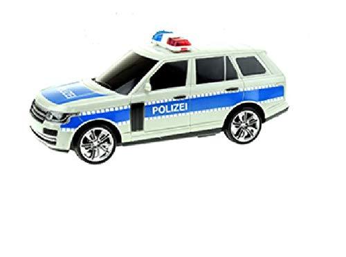 Toi-Toys 14072A ferngesteuertes Polizeiauto, Modellauto Polizei mit Sirene und Licht