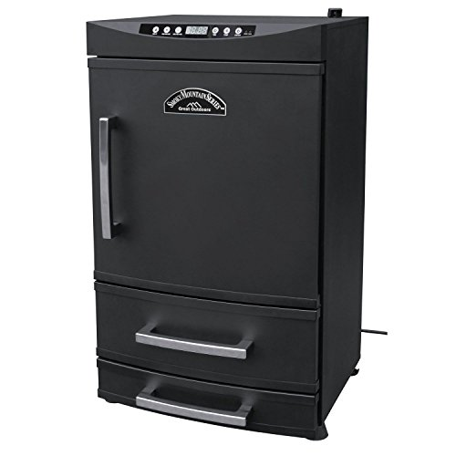 Smoky Mountain Vertical Two Drawer Electric Smoker - 32in., 768 sq. in. Cooki...