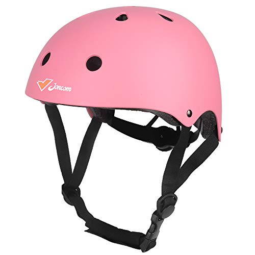 Joncom Kids Bike Helmet, Toddler Helmet Adjustable CPSC Certificated Kids Helmet for 3-8 Years Old Boys Girls Multi-Sport Safety Cycling Skating Skateboarding Helmets