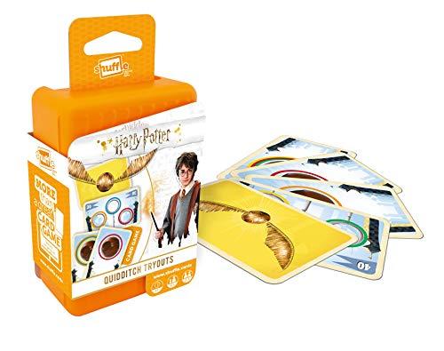 Shuffle Fun 4 in 1 gioco di carte di Harry Potter,