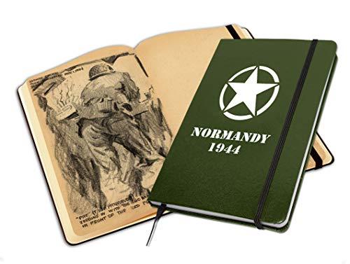 Libreta ilustrada Normandy 1944