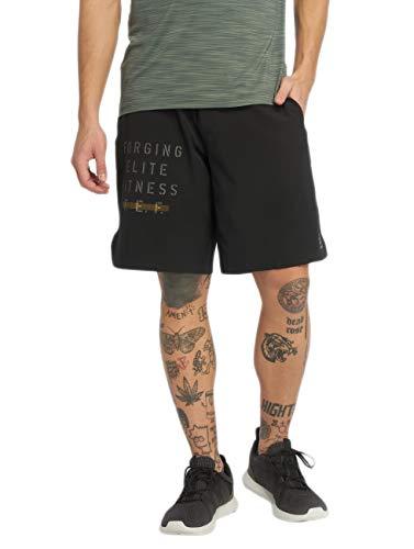Reebok Crossfit Epic Base - Pantaloncini da uomo, taglia XS, colore: Nero
