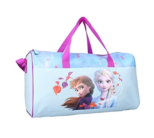 Kinder Sporttasche Reisetasche Tasche wählbar: Minnie Paw Frozen - Geschenk für Mädchen (Frozen)