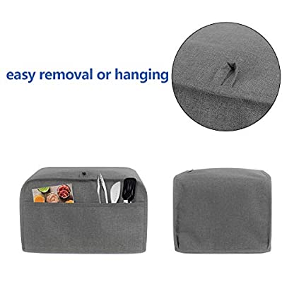 Luxja-Abdeckung-fr-Toaster-mit-2-Taschen